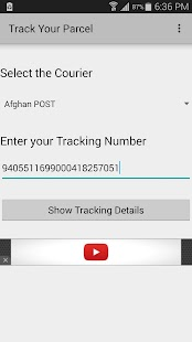 Track Your Parcel- screenshot thumbnail