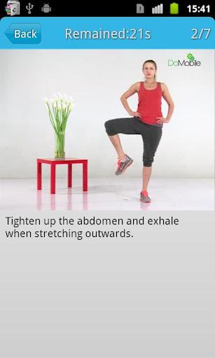 女性の足のワークアウトFREE|玩健康App免費|玩APPs