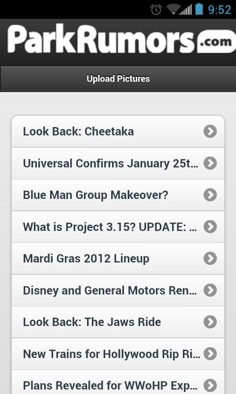Park Rumors- screenshot