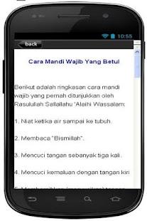 CARA MANDI WAJIB YANG LENGKAP - screenshot thumbnail