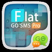 (FREE)GO SMS FLAT THEME