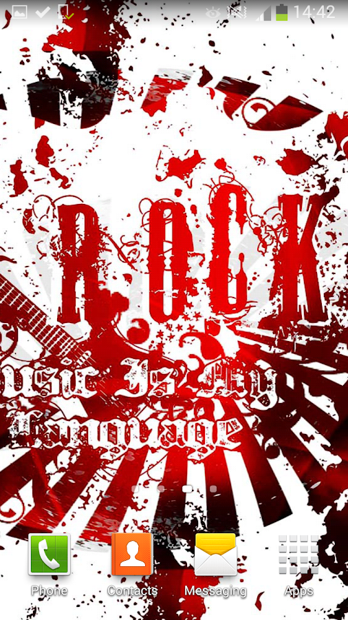 rock live wallpaper android apps on google play