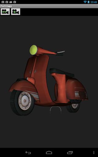 PortShape - a 3D model viewer