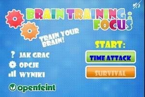 Screenshot of Brain Training : Focus