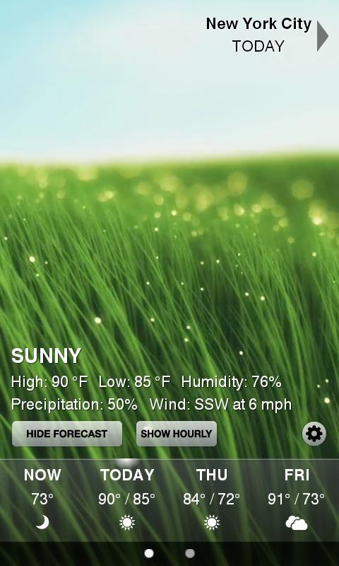 Weather HD - screenshot