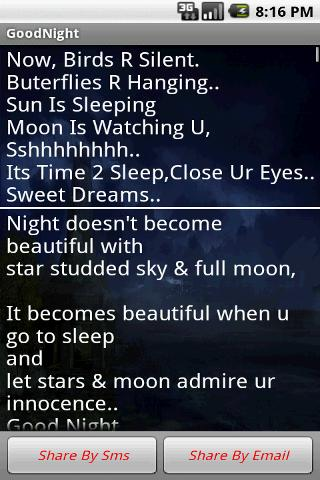 Good Night(Sweet Dream) Wishes - screenshot