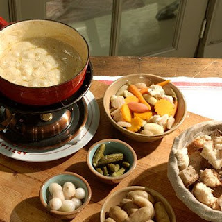 Stilton and Sauternes Fondue Recipe