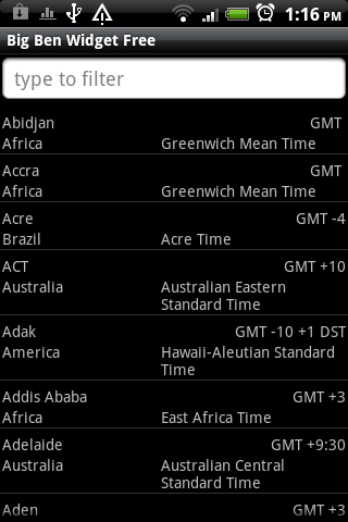 Big Ben Clock Widget Free- screenshot