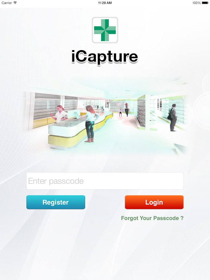 iCapture - Pharma- screenshot