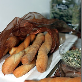 Fennel Seed Breadsticks