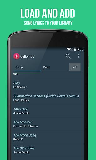 getLyrics