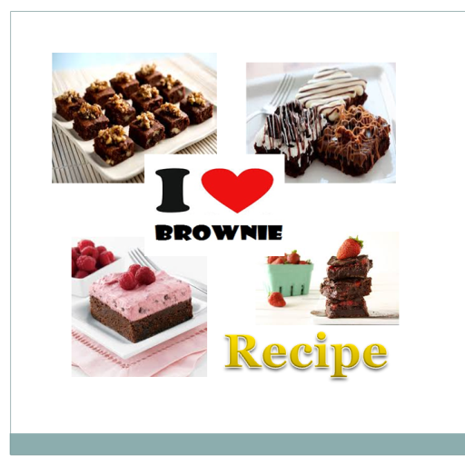 Brownie Cake Recipes 書籍 App LOGO-APP試玩