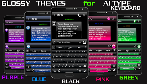 THEME FOR AI TYPE AERO BLACK