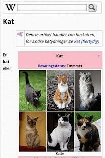 Danske Wikipedia - screenshot thumbnail