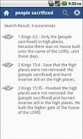 Screenshot of Holy Bible (KJV) Offline