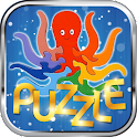 Kids puzzle logo