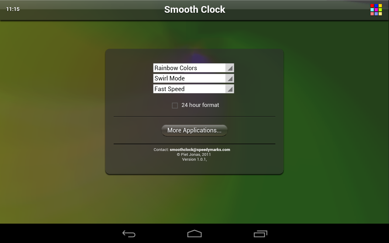 Smooth Clock Free- screenshot