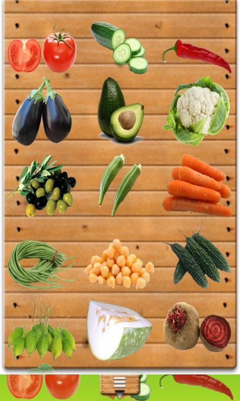 My First Grade Vegetable Chart - Android Apps on Google Play