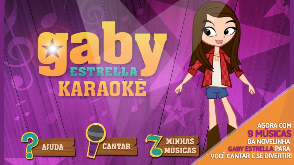 Gaby Estrella Karaokê- screenshot