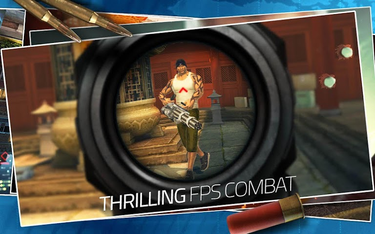 android CONTRACT KILLER: SNIPER Screenshot 2