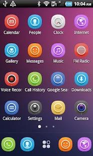 Level Color_Turbo EX Theme - screenshot thumbnail
