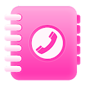 Pink Dialer Contact app free icon