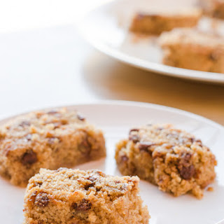 Cinnamon Cake Blondies