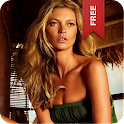 Kate Moss Live Wallpaper Free logo