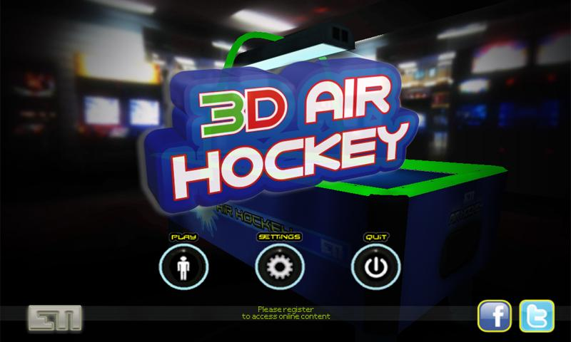 3D Air Hockey (Free) - screenshot