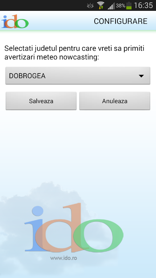 Ido Weather Warnings - screenshot