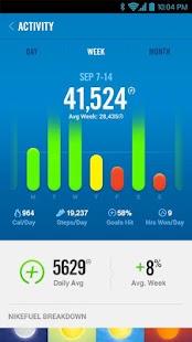Nike+ FuelBand - screenshot thumbnail