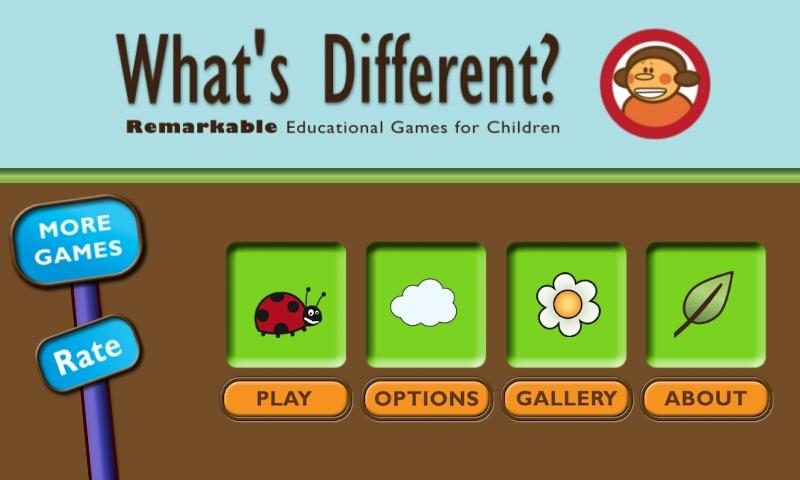 What's Different: Odd One Out - screenshot