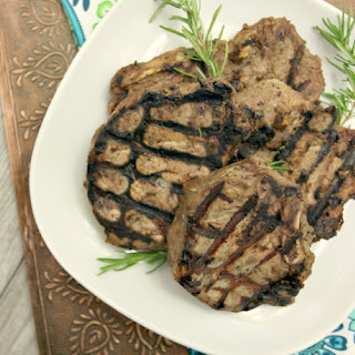 Tahini Yogurt Pork Chops Recipe