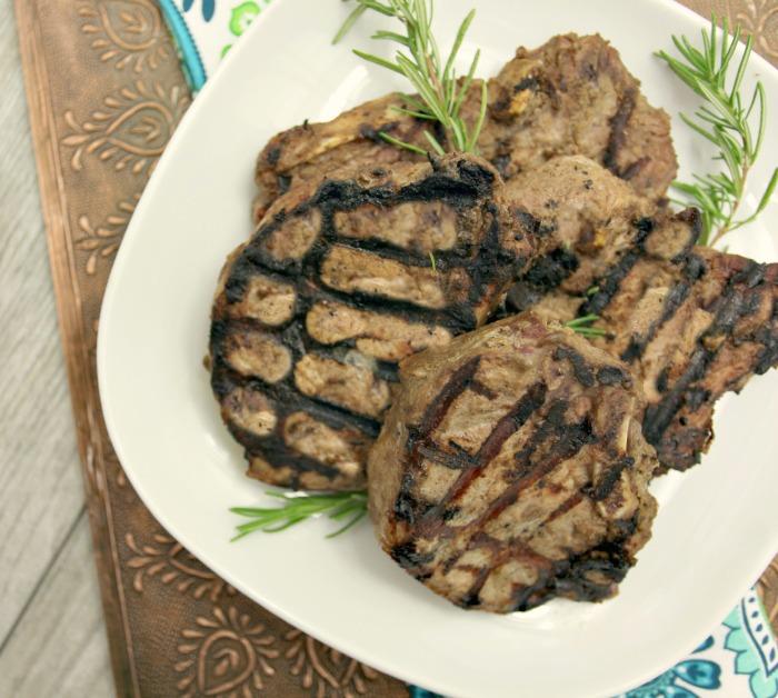Tahini Yogurt Pork Chops Recipe