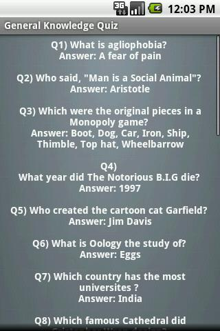 general knowledge quiz with answers pdf