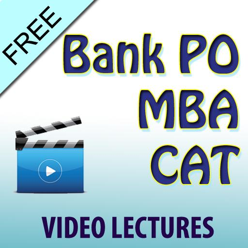 Bank PO MBA CAT Video Lectures
