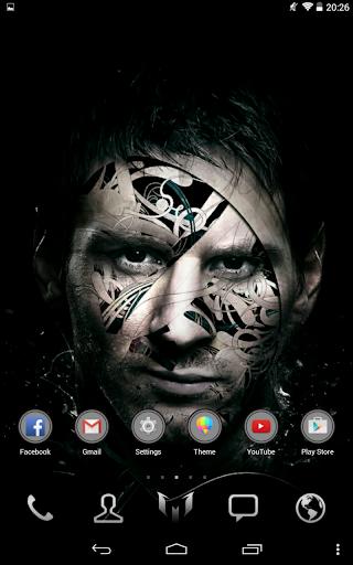 Messi Go Launcher Theme Pro