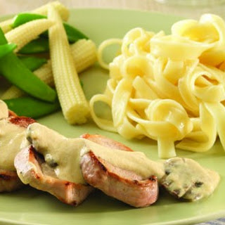 Pork With Mustard And Mushrooms
