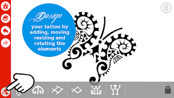Polynesian tattoo app android app on appbrain for Design your own tattoo app