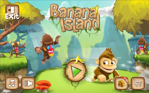 香蕉島 -猴子運行遊戲 街機 App-癮科技App