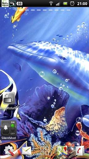 海豚 動態壁紙