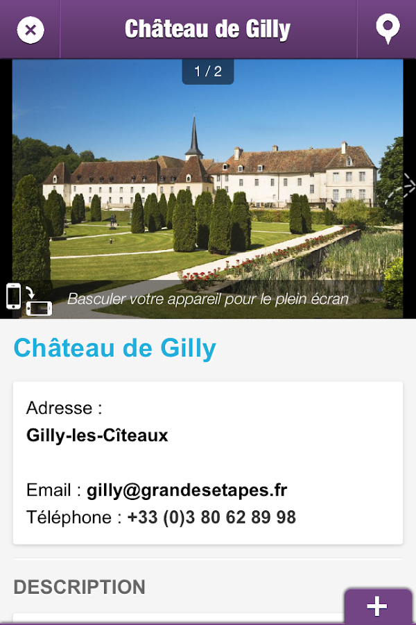 PAYS DE NUITS-SAINT-GEORGES- screenshot