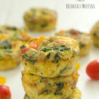 Paleo Breakfast Muffins (Whole 30 Approved).