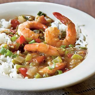 Shrimp Étouffée.