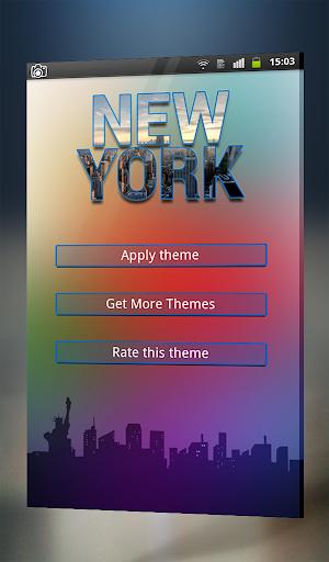New York Keyboard Theme