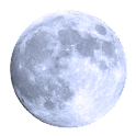 Real Moon sticker logo
