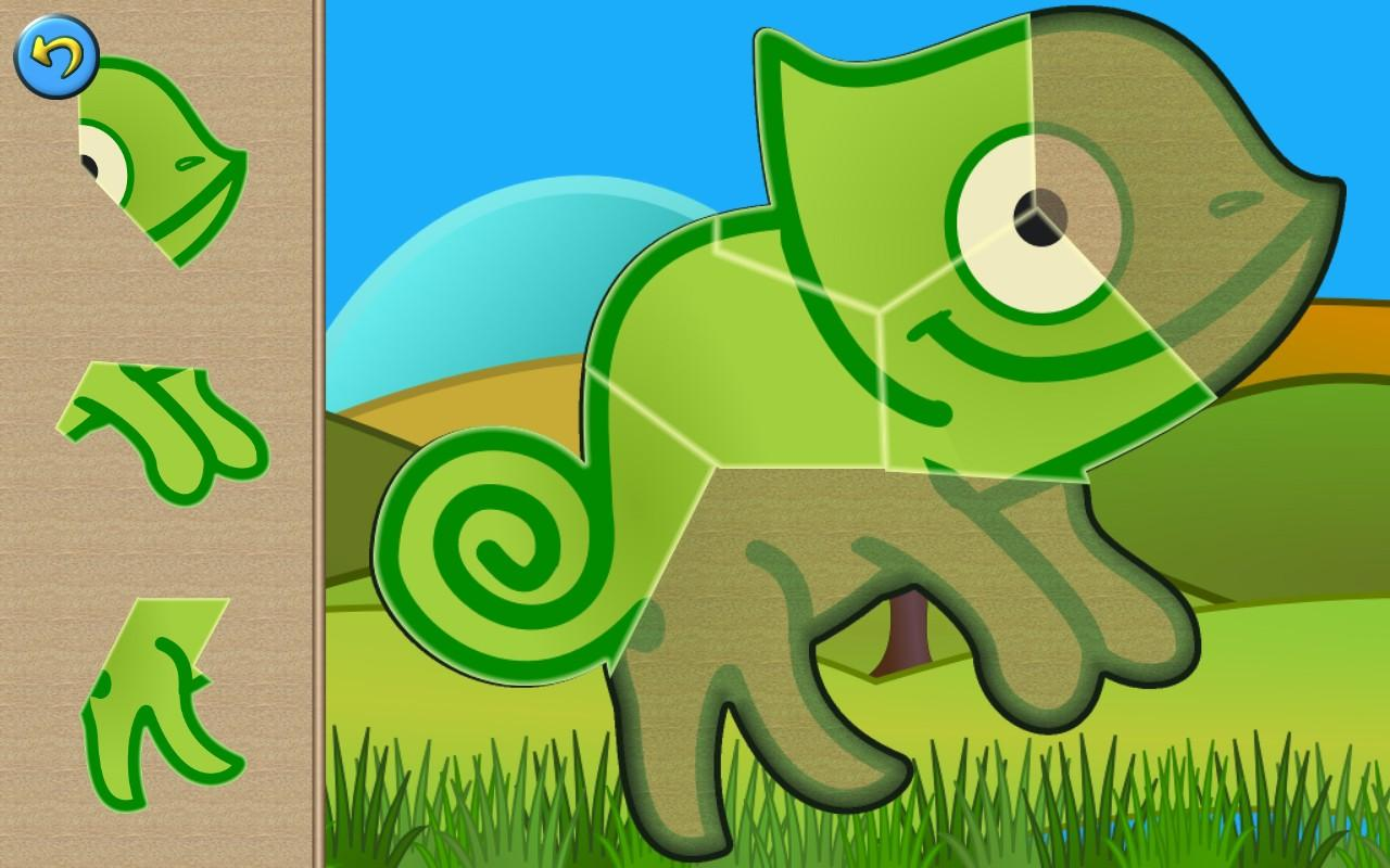 Dino Puzzle Games for Kids- screenshot