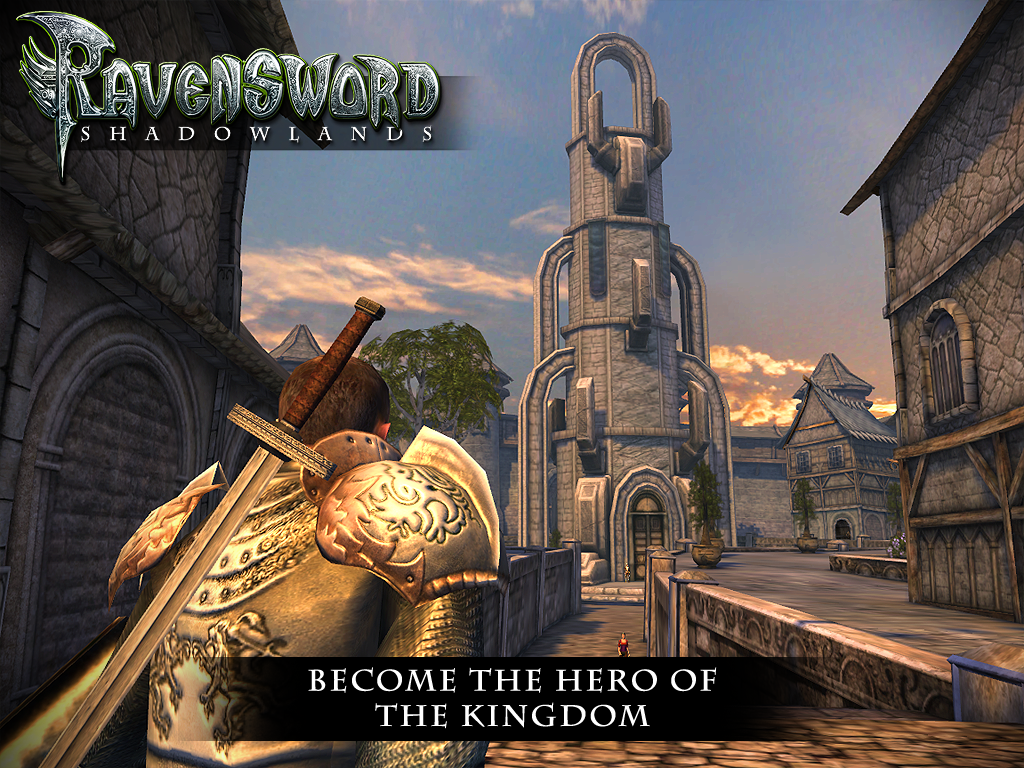 Ravensword: Shadowlands 3d RPG - screenshot