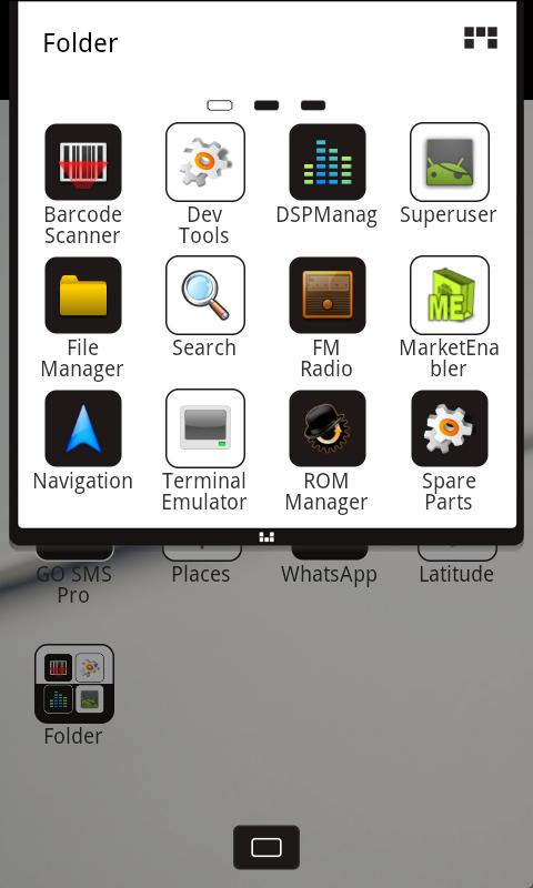 Z.CoffeeW Theme GO Launcher EX - screenshot