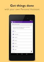 Screenshot of Indigo Virtual Assistant